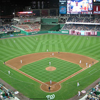 FIRST Night at the Washington Nationals